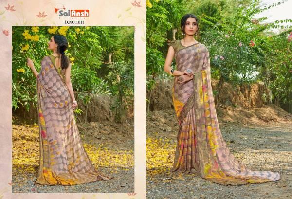 Sai Ansh Creation Haseen Wadiya Rainbow Jari Regular Wear Sarees Collection