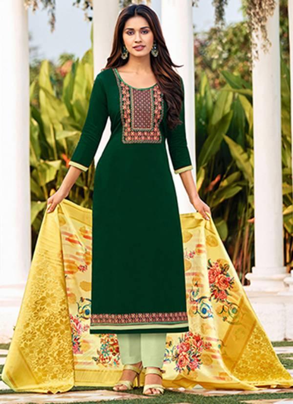 An Bazaar Khanak Jam cotton Embroidery Work Party Wear Designer Salwar Suit Collection