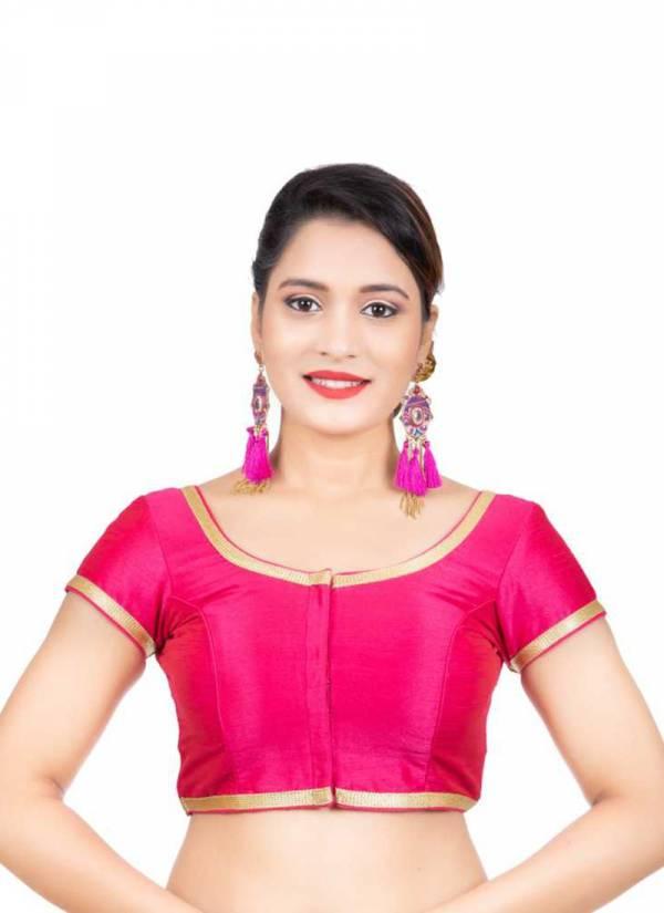 Ruhi Fashion Heavy Tapeta Silk Readymade Fancy Blouses Collection