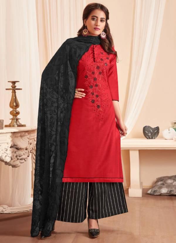 Raghav Nagma Series 37001-37012 Handloom Soft Cotton Slub With Fancy Embroidery Work Suits Collection