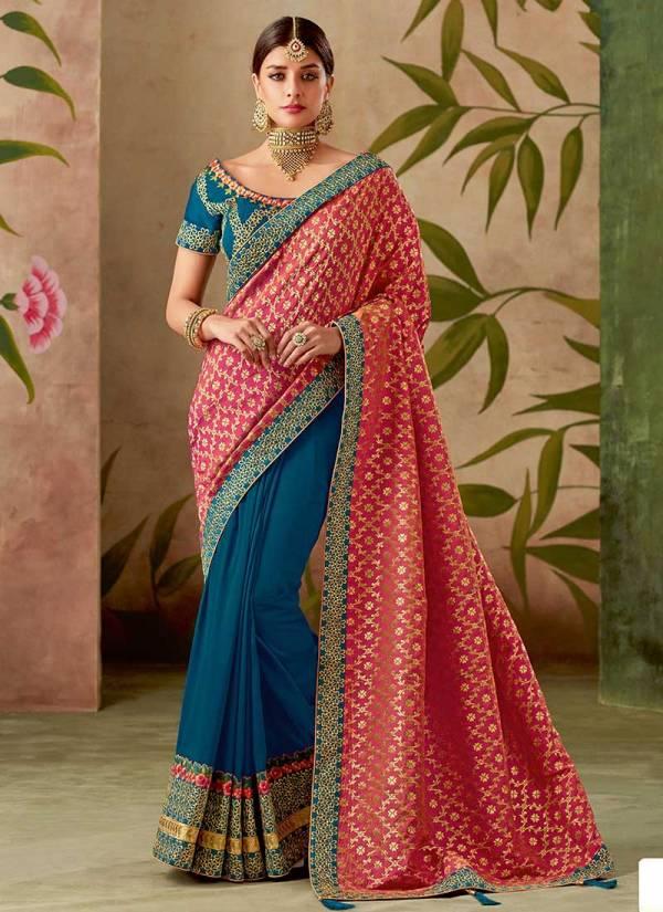 Mahotsav Rajrani Silk Latest Thread Work Festival Wear Designer Sarees Collection