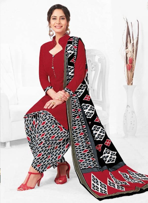 Baalar Nai Disha Series 407-1124 Printed Cotton Regular Wear New Fancy Readymade Patiyala Suits Collection