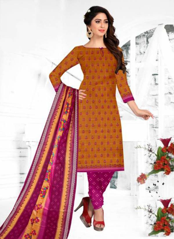 DK Silsila Vol 2 Series 2001-2020 Pure Cotton Printed Fancy Casual Wear Patiyala Suits Collection