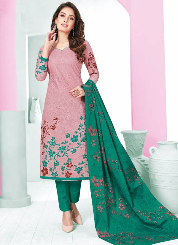 Nagmani Parda Vol 5 Series 5001-5012 Pure Cotton Fancy Printed Daily Wear Churidar Suits Collection