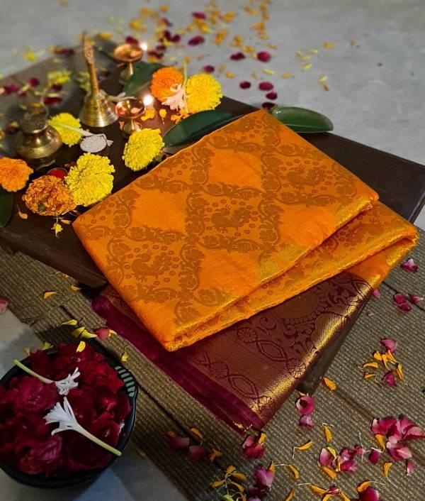 Nakshatra Fashion Studio Silk Saree Vol-3 Nylon Silk Zari Weaving Rich Pallu Festival Wear Designer Sarees Collection
