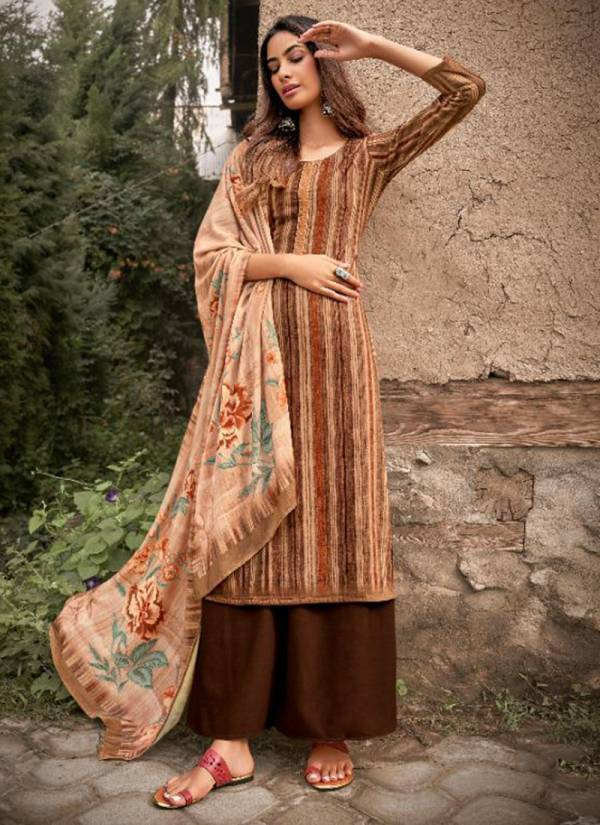 Ibiza Afreen Series 691-698 Pure Velvet With Digital Print With Codding Embroidery Work Salwar Suits Collection