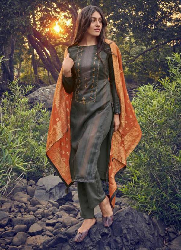 Deepsy Ahana Series 61001-61006 Winter Special Self Woven Pashmina Digital Printed And Hand Work Palazzo Suits Collection