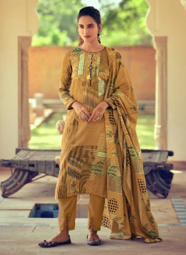 Winter Series 452 001-452 010 Pure Pashmina Digital Style Print Office Wear Salwar Suit Collection