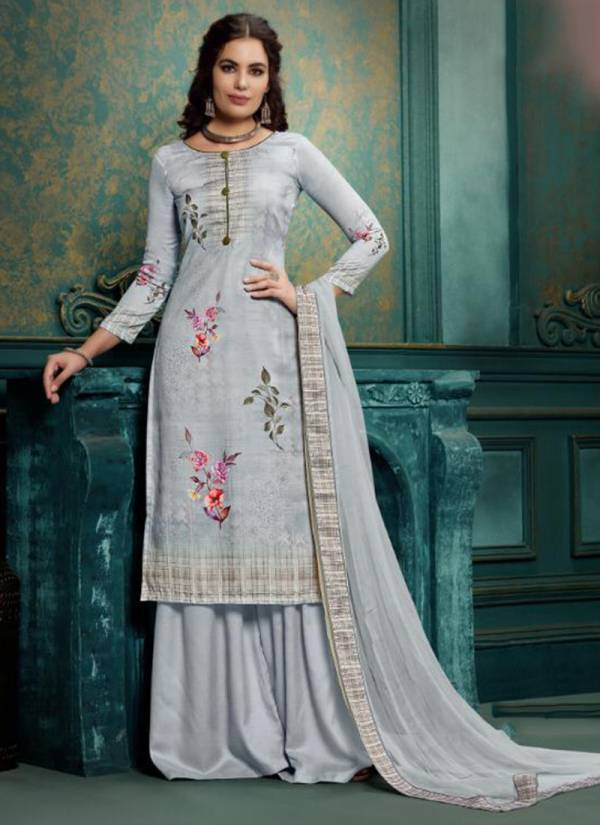Winter Series 1001-1008 Pure Woollen Pashmina With Digital Print Stylish Festival Wear Suit Collection