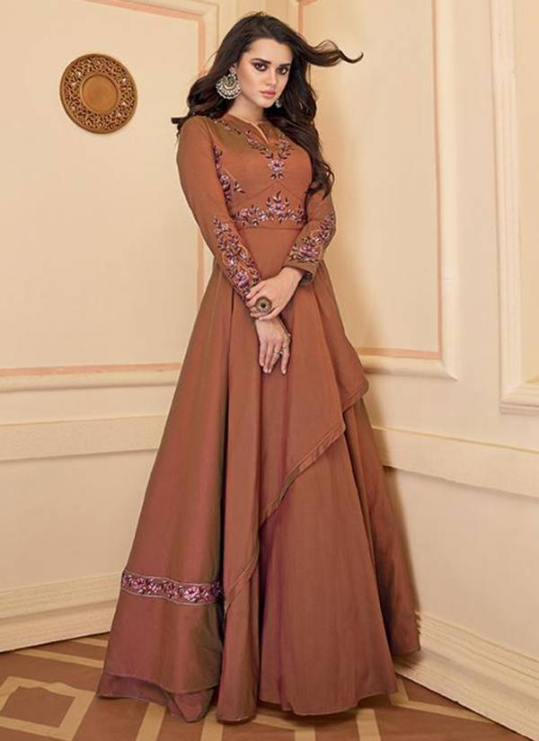 Stylemax Almirah Vol 04 Series 3001-3005 Heavy Soft Silk With Styllish Embroidery Work Readymade Gown & Kurti Collection
