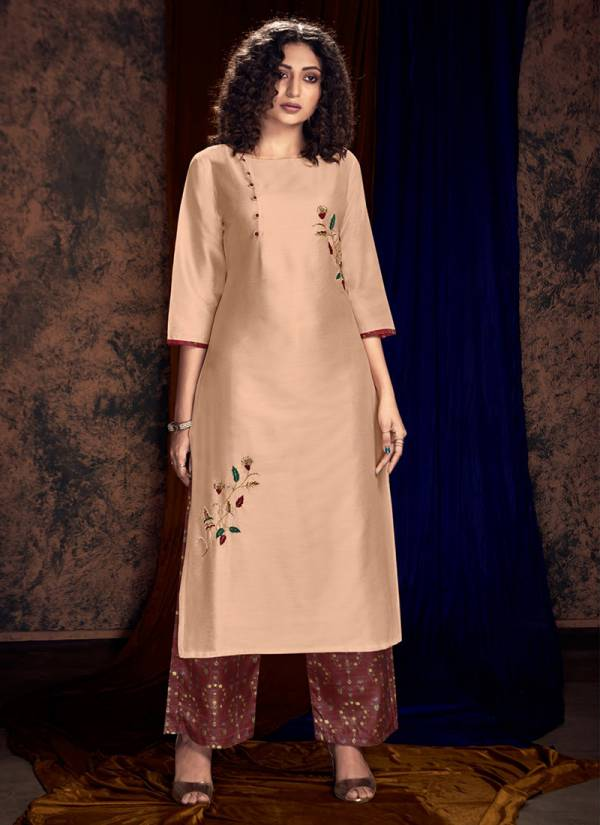 Ananya Viscose And Silk Fancy Designer Kurti With Bottom Collection AN54-AN61