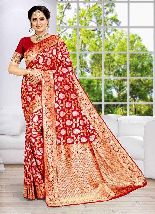 Anveshi Traditional Wear New Designer Silk Sarees Collection 2141-2147