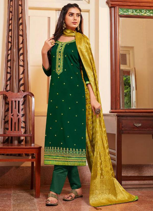 Kessi Asopalav Vol 15 Series 5581-5588 Jam Silk With Embroidery Work Party Wear Suits Collection