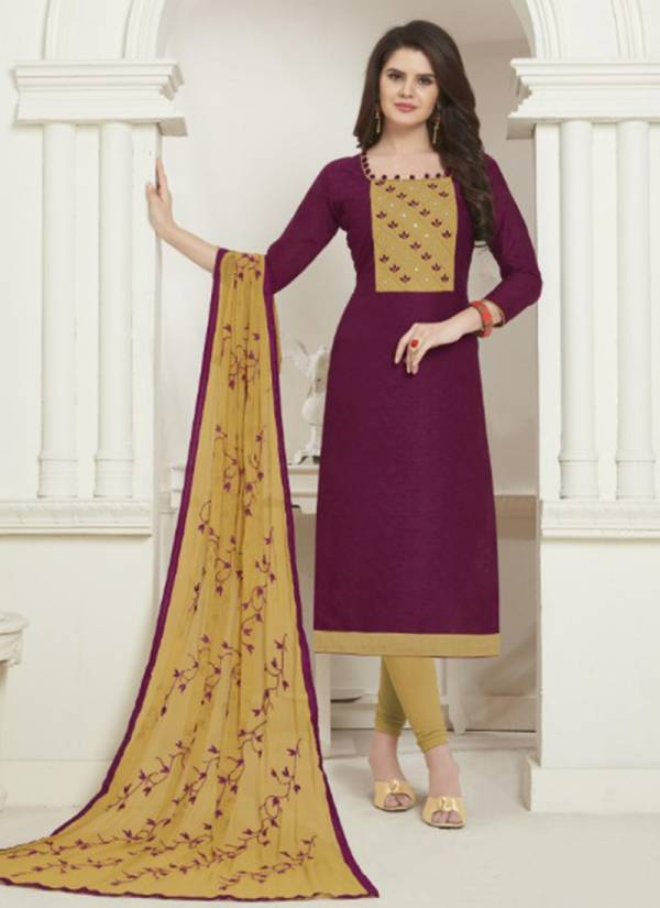Jinesh NX Avantee Vol 1 Series 1201-1212 Bombay Jacquard Cotton Daily Wear New Fancy Churidar Suits Collection