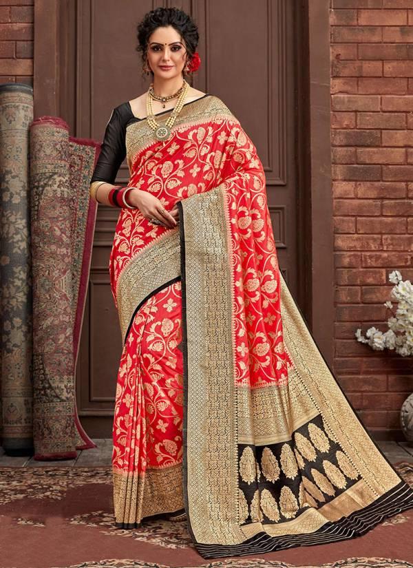 Takshaya Avantika Series 1007-1012 Latest Designer Dola Silk Traditional Wear Sarees Collection