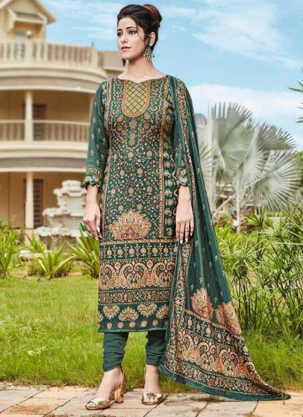 Viona Azbira Series 1009-1016 Heavy Pashmina Digital Printed Regular Wear Suits Collection