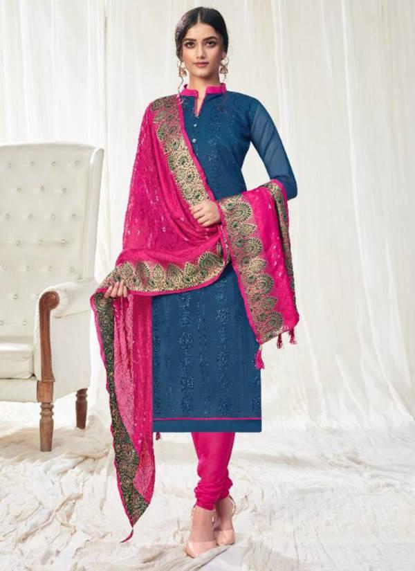 Vishnu Impex Bandhej Vol 2 Series 9001-9012 Modal Silk Embroidery And Machine Diamond Work Casual Wear Churidar Suits Collection