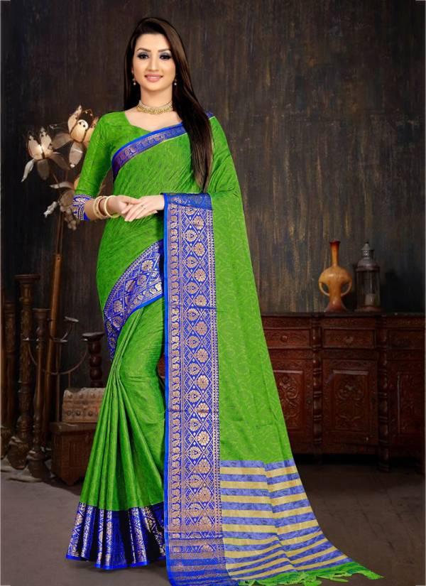 Redolence-Blue-Berry-Series-101-108-Cotton-Casual-wear-Regular-Wear-Saree-Collection