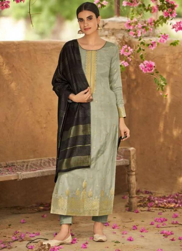 Ibiza Bunai Series 632-637 Pure Silk Minakari Festival Wear Suits Collection