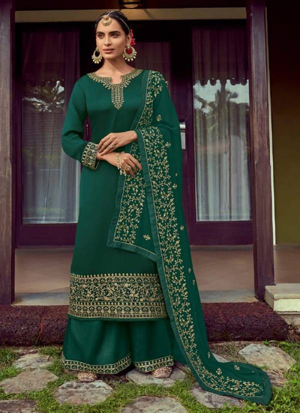 Amyra Designer Butterfly Series 101-106 Satin Georgette With Heavy Exclusive Embroidery With Fancy Diamond Work Party Wear Suits Collection