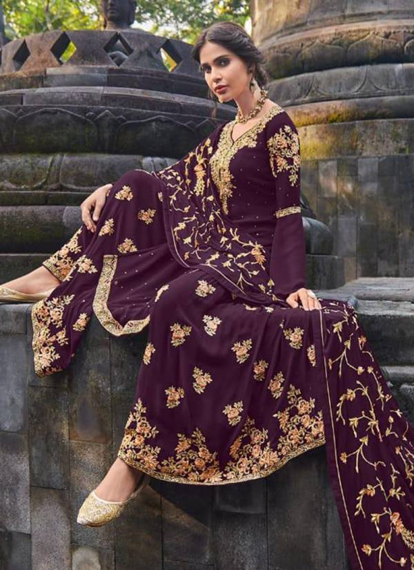 Amyra Designer Celebrity Series 1001-1005 Real Georgette With Heavy Exclusive Embroidery With Fancy Diamond  Wedding wear Suits Collection