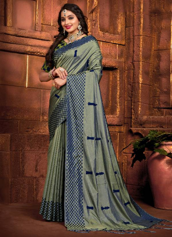 Varni Fabric Chess Card Silk Series 2101-2105 Festival Wear Sana Silk Sarees Collection
