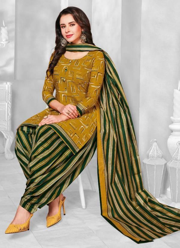 Balaji Chulbuli Patiyala Series 1001-1012 Indian Traditional Wear Cotton Suits Collection