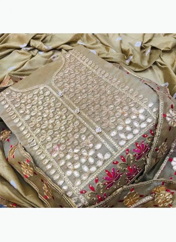 Designer Suits Series DA-DD Semi Modal Gotapatii Work Festival Wear Non Catalog Dress Material Salwar Suits Collection