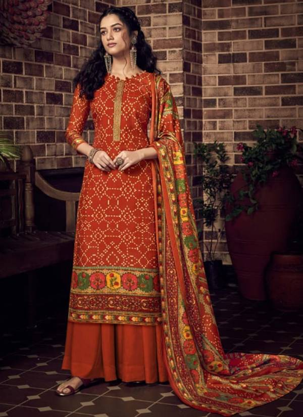 Winter  458 001-458 010 Latest Pure Pashmina Digital Style Print With Regular Wear Suits Collection