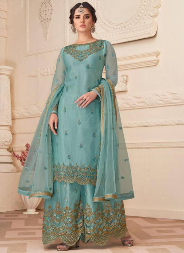 Kaara Dulhan Vol 11 Series 5001-5004 Faux Georgette Butterfly Net With Embroidery And Famncy Diamond Work Wedding Wear Suits Collection