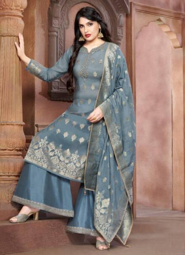 Your-Choice-Gajban-2-Series-3511-3514-New-Designer-Pure-Modal-Silk-Banarasi-Jacquard-Salwar-Suits-Collection