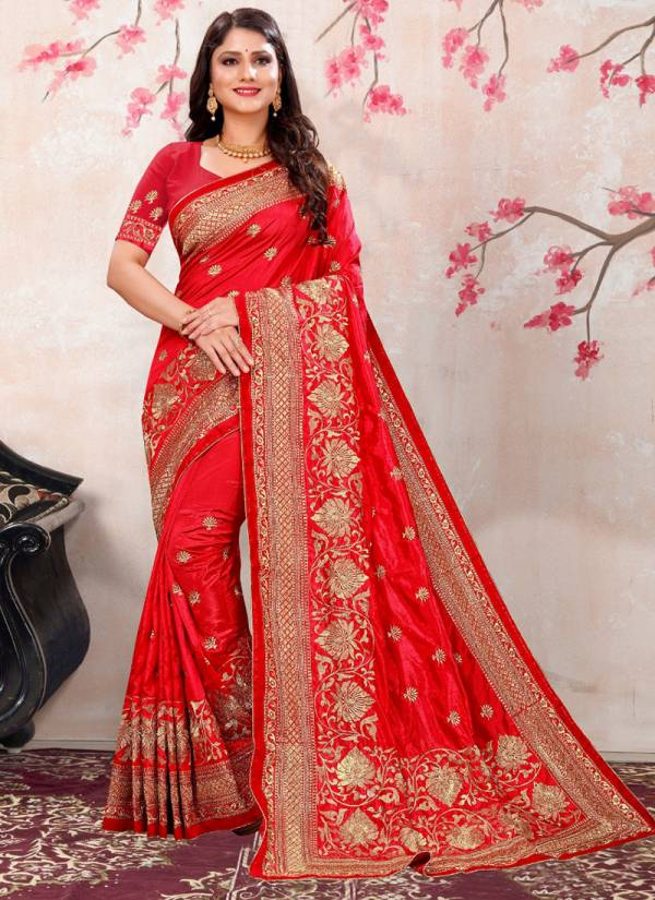 Ladys-Ethnic-Golden-Queen-Series-3201-3206-Zoya-Silk-With-Heavy-Embriodery-Work-Party-Wear-Sarees-Collection