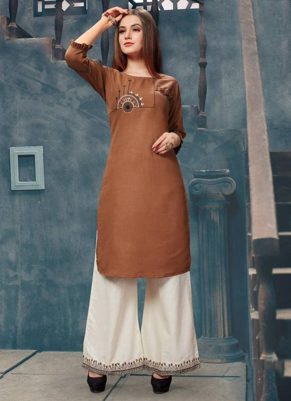 Dehliz Trendz Grace Series 3014-3019 Magic Slab With Hand & Embroidery Work Festival Wear Kurti With Palazzo Collection