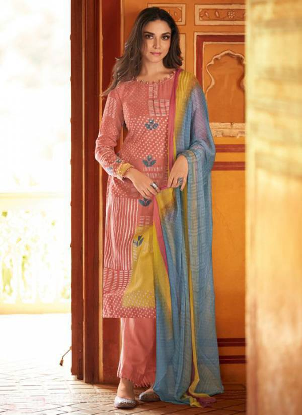 Winter Series 5501-5508 Heavy Pashmina Print With Khatli Work Designer Suits Collection