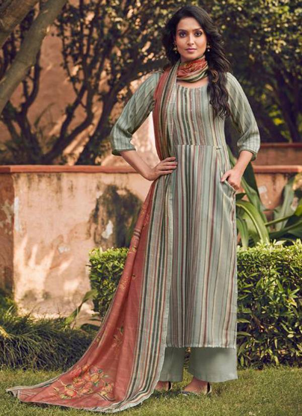 Winter Series 5461-5470 Pashmina Digital Print With Hand Work Casual Wear & Office Wear Salwar Suit Collection