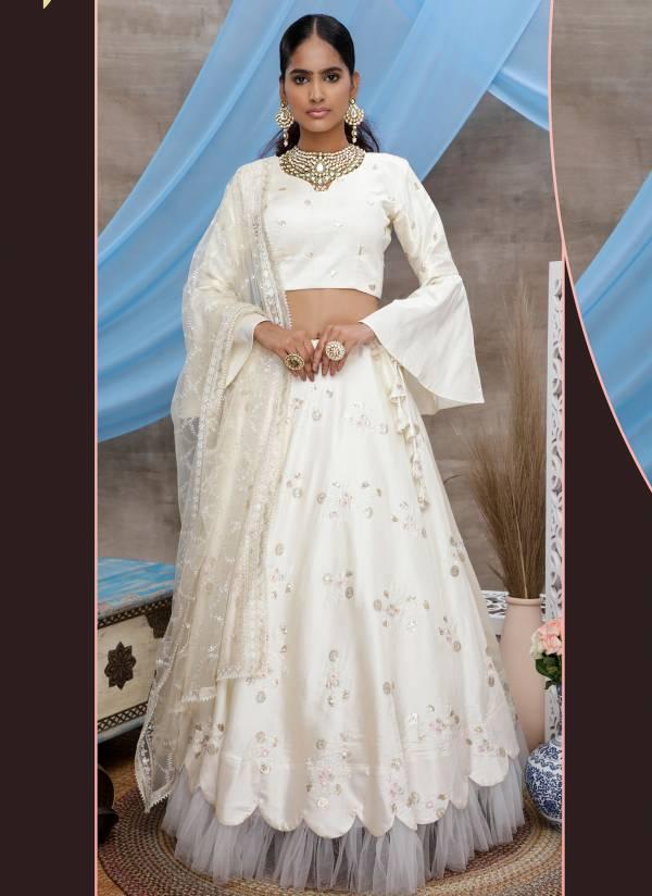 Khushbu Fashion Guldasta Vol 6 Series 1301-1305 New Designer Wedding Wear Georgette Lehenga Choli Collection