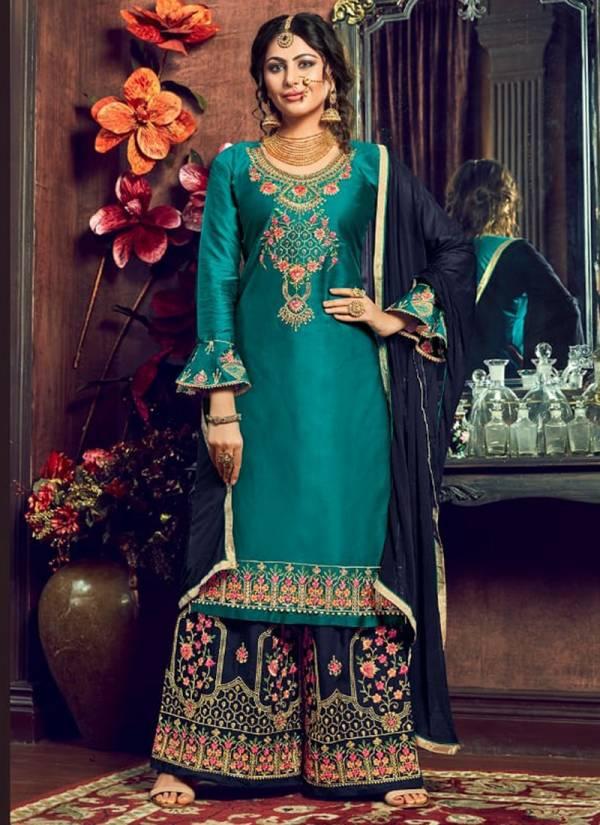 Amyra Designer Gulzaar Series 501-505 Pure Jam Silk Cotton Heavy embroidery & Diamond Work Wedding Wear Suits Collection