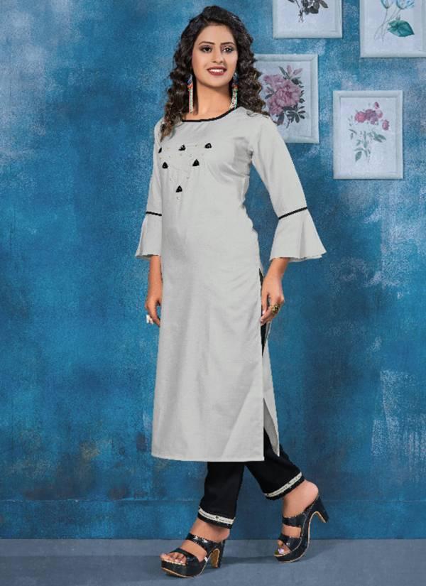 12-Angel-Isha-Series-1001-1006-Heavy-Rubby-Cotton-Hand-Work-Kurti-With-Bottom-Collection