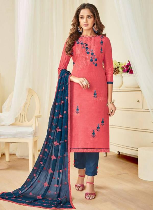 Vishnu Impex Jim Jam Vol 2 Series 2001-2012 Zarna Silk Embroidery Work Suits Collection