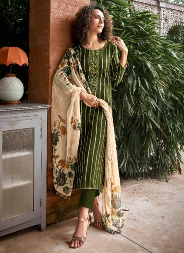 Winter Series 720-729 Pure Pashmina With Stylish Work Latest Regular Wear Suits Collection