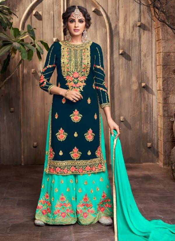 Amyra Designer Kajra Vol 9 Series 2728-2732 Blooming Georgette With Heavy Embroidery & Diamond Work Wedding Wear Suits Collection