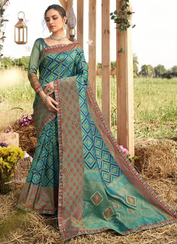 Shangrila Kalakanya Series 30771-30776 Heavy Designer Tanchui Zari Silk With Fancy Rich Pallu Party Wear Sarees Collection
