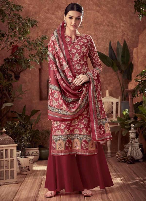 Alok Suit Kashikaa Series I 659 001 - I 659 010 Pure Woll Pashmina Digital Print Salwar Suits Collection