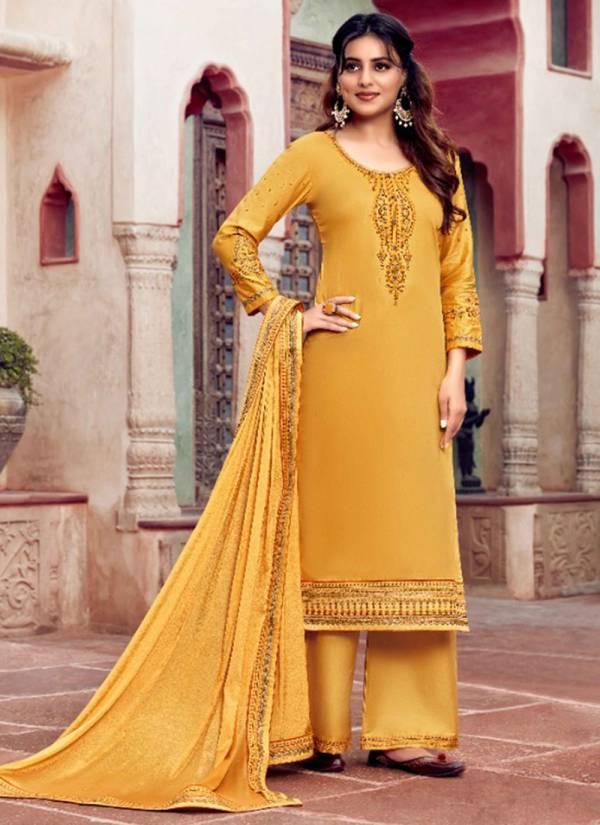 KVS-Kavyanjali-Series-181-186-Classic-Look-Jam-Silk-With-Stylish-Work-Salwar-Suits-Collection