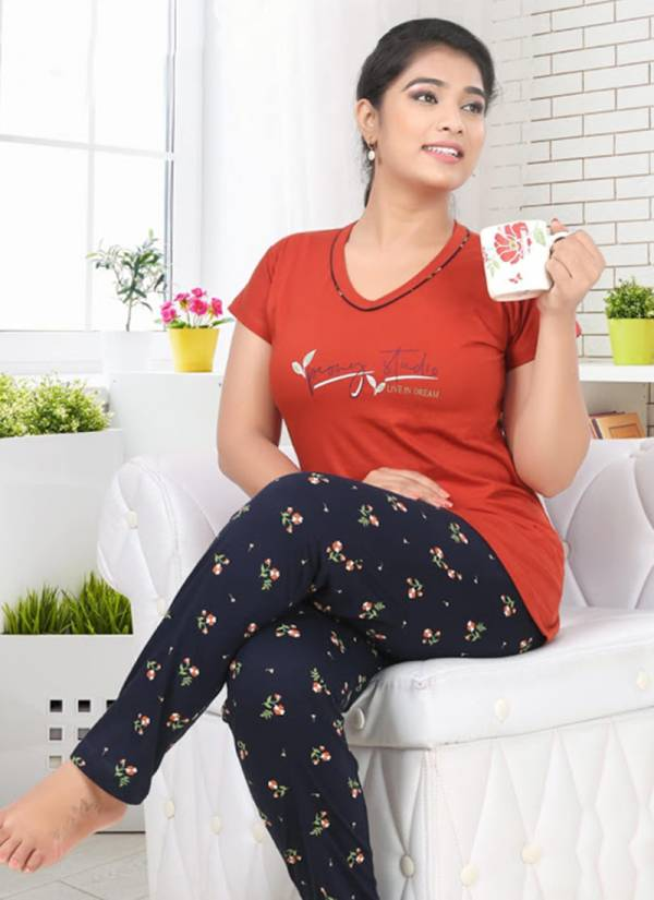 Kavyansika-Vol-480-Series-480-A-480-F-Cotton-Sinker-Ladies-Night-Suits-Collection