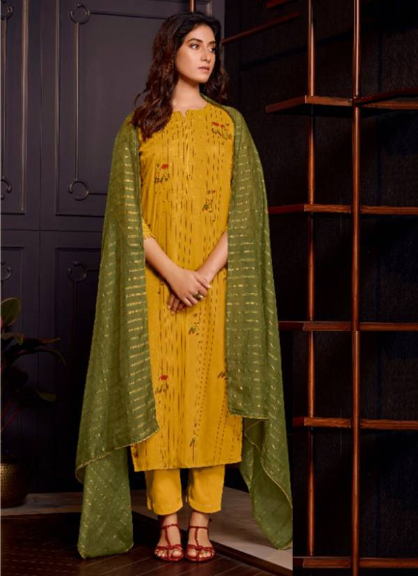 Jay Vijay Khaas Series 5441-5449 Pure Modal Silk Hand Work Traditional Wear Palazzo Suits Collection