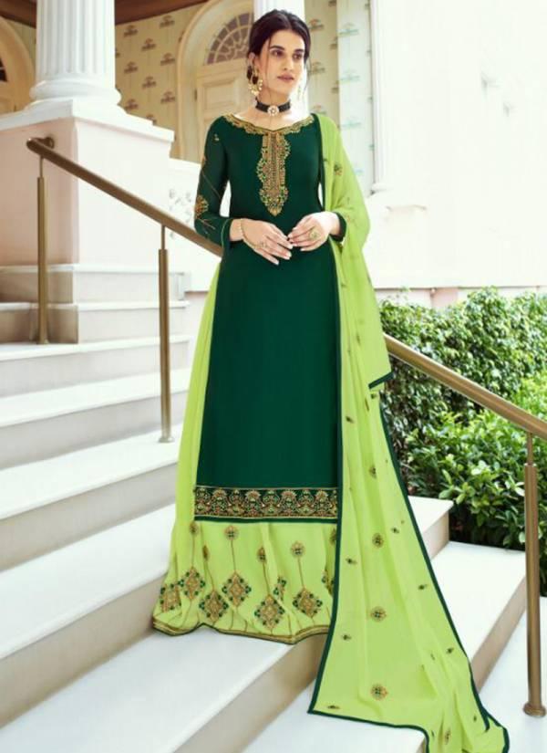 Alisa Kiara Vol 4 Series 4901-4906 Satin Georgette Long Embroidery & Hand Work Wedding Wear Suits Collection