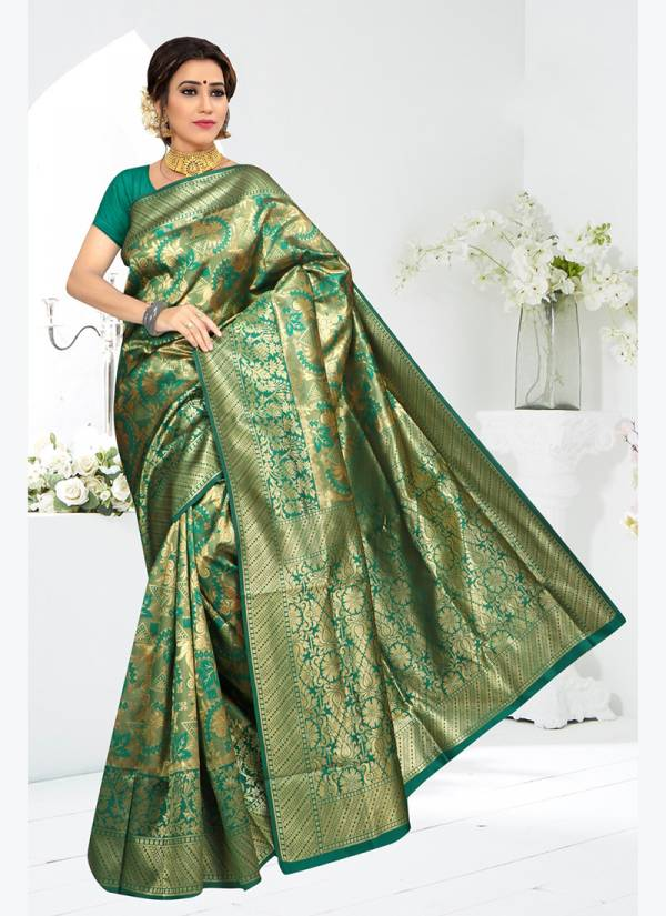 Kit Kat Vol 3 Traditional Art Soft Silk Desugnre Sarees Collection KK 2125-KK 2130