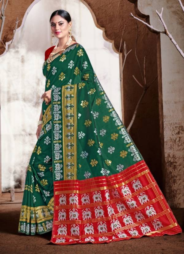 New Designer Banarasi Silk Weadding & Party Wera Sarees Collection 1300-1305