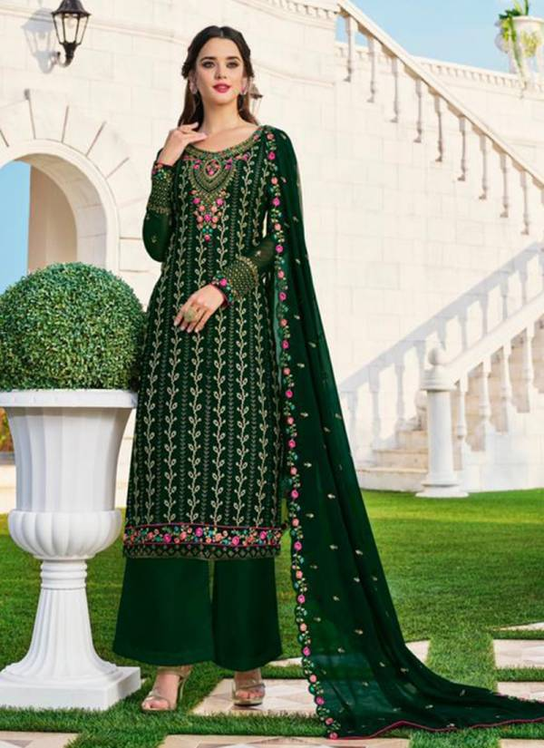 Lavina Vol - 99 Georgette Embroidery Work Latest Suits Collection 99001-99006
